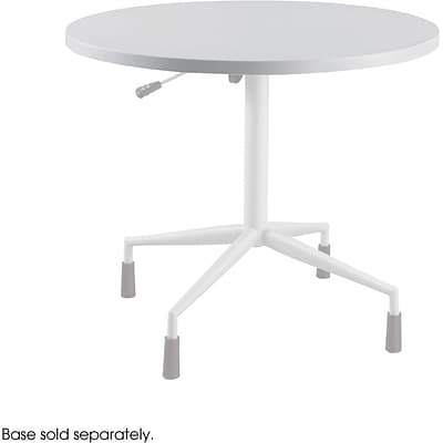 Safco® RSVP Table Top, Gray, 36(Dia) x 1T