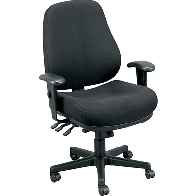 Raynor Eurotech Fabric Ergonomic Intensive Use Chair, Dove Charcoal
