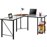 Altra Aden Glass L-Desk
