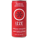 Izze® Pomegranate Sparkling Juice, 8.4 oz., 24 Cans/Case