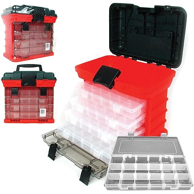 Trademark Tools™ 73 Compartment Storage Tool Box, 7 1/8 x 11 x 10 1/4