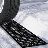 Trademark Tools™ Car Tire Snow Grabber Mat; 5/7 H x 5 5/7 W x 21 6/7 D; 2/Pack