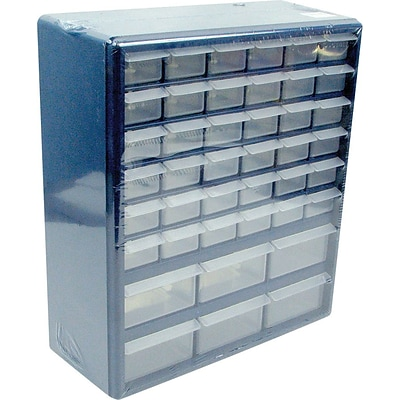 Trademark Tools™ Deluxe 42 Drawer Compartment Storage Box, 17 H x 14 3/4 W x 5 1/4 D