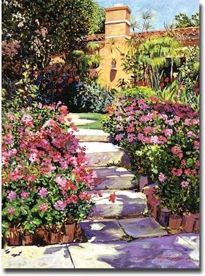 "Trademark Global David Lloyd Glover ""The Five Steps"" Canvas Art, 18"" x 24"""