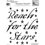 RoomMates® Reach for the Stars Quote Peel and Stick Wall Decal, 10 x 13