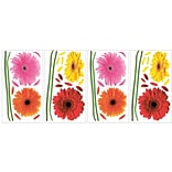 RoomMates® Small Gerber Daisies Peel and Stick Wall Decal, 10 x 18