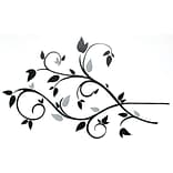 RoomMates® Scroll Branch Foil Leaves Peel and Stick Wall Decal, 10 x 18, 4 1/2 x 10