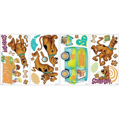 RoomMates® Scooby-Doo Peel and Stick Wall Decal, 10 x 18