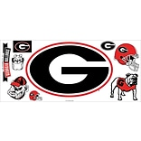RoomMates® University of Georgia® Giant Wall Decal with Hooks, 18 x 40