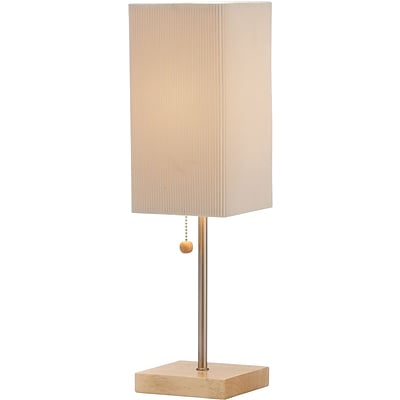 Adesso Angelina Table Lamp, Natural Oak Wood (3327-12)