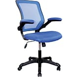 RTA Products Techni Mobili Mesh Task Chair, Blue