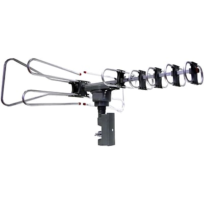 Supersonic® SC-603 HDTV Digital Amplified TV Motorized Rotating Antenna