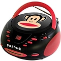 Paul Frank® PF224 Stereo CD Boombox With AM/FM Radio, Black