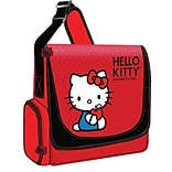 Hello Kitty® KT4339 Vertical Messenger Style Laptop Case, Red