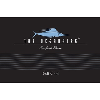 The Oceanaire Gift Card $100