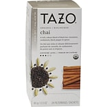 Starbucks® Tazo Organic Chai Tea, 24/Box