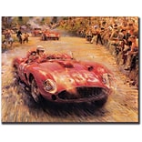 Trademark Global 535-Gallery Wrapped Giclee Canvas Art, 35 x 47