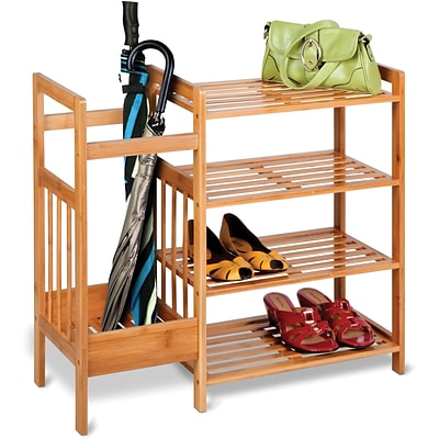 Honey Can Do® Bamboo Entryway Organizer