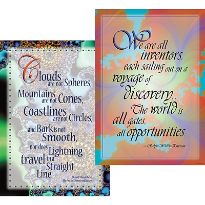 Barker Creek Unlimited Possibilities Poster Duet, 13 3/8 x 19