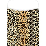 Barker Creek Library Pocket, Leopard Design, 30/Pack