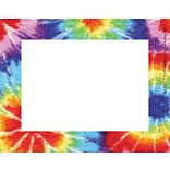 Barker Creek Tie-dye Name Tag, 3 1/2 W x 2 3/4 D, 45/Pack