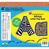 Barker Creek Africa 4 Letter Pop Out, All Age