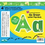 Barker Creek Go Green 4 Letter Pop Out, All Age