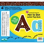 Barker Creek Hot to Dot 4 Letter Pop Out, All Age