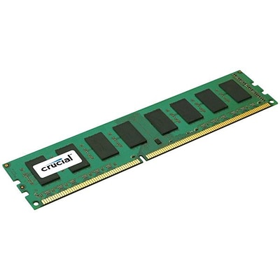 Crucial Technology CT25672BA1067 DDR3 (240-Pin DIMM) Server Memory, 2GB