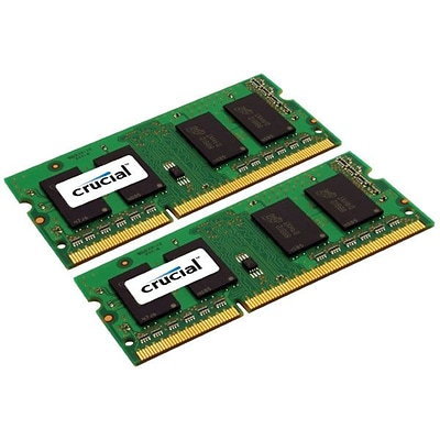 Crucial Technology CT2K2G3S1067M DDR3 (204-Pin SO-DIMM) Laptop Memory, 4GB