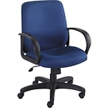 Safco® Poise® 6301 Executive Mid Back Seating; Blue