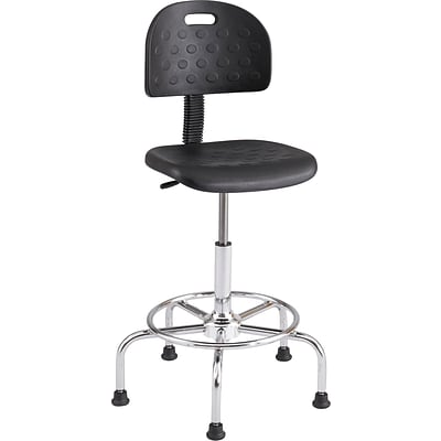 Safco® WorkFit™ 6950 Polyurethane Economy Industrial Chair, Black