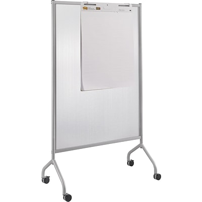 Safco® Impromptu® 8510 42(W) x 72(L) Full Polycarbonate Screen, Metallic Gray