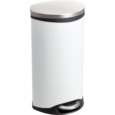 Safco® 9902 Medical Receptacle, White, 7.5 gal.