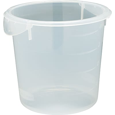 Rubbermaid® Round Storage Container, 4qt.
