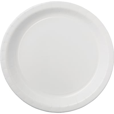 Dixie® Clay Coated Round Paper Plate White 8.5 500/Carton  sc 1 st  Quill.com & Dixie® Clay Coated Round Paper Plate White 8.5\