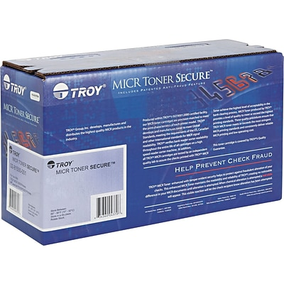 Troy® 281551001, CF-280X, MICR High-Yield Toner Secure, 6800 Page-Yield, Black
