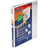 Stride® QuickFit® 1/2 D-Ring View Binder