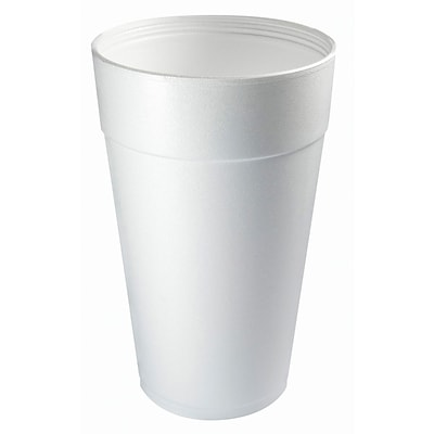 Dart® 44TJ32 Hot/Cold Cup; 44 oz. White, 300/Pack
