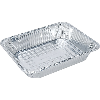 Handi-Foil® 32035 Aluminum Steam Table Shallow Pan, 1 3/4(H) x 10 2/5(W) x 12 3/4(D)