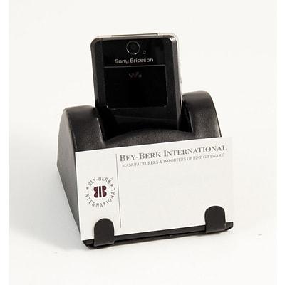 bey berk d431 cell phonebusiness card holder black leather - Cell Phone Business Card Holder