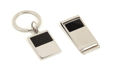 Bey-Berk D980 Silver Plated Money Clip and