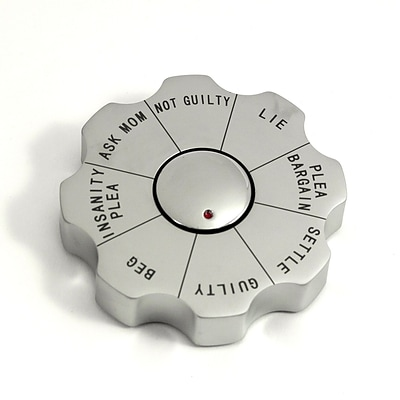 Bey-Berk G530 Spinner Decision Maker Paperweight, Legal