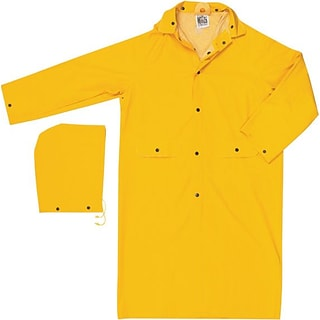 River City® 200C Yellow Classic Rain Coats, Large