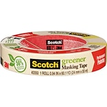 Scotch® Greener Masking Tape for Performance Painting, .94 x 60 yds. (2050-24A)