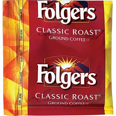 Folgers® Classic Roast® Coffee, 1.5 oz. Fraction Packs, 42/Case