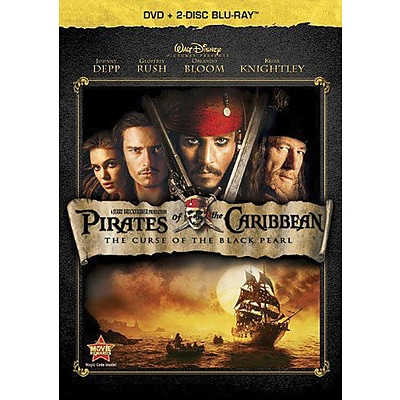 Pirates Of The Caribbean: The Curse Of The Black Pearl (DVD + Blu-Ray)