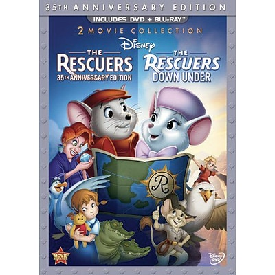Rescuers 35th Anniversary (DVD + Blu-Ray)