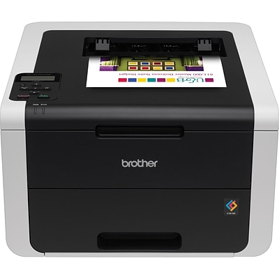 Brother HL3170CDW Wireless Single-Function Digital Color Printer with Duplex and Mobile Device Printing