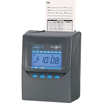 lathem 7500e calculating time clock quill com